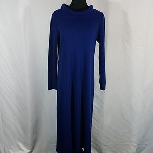 Lennie for Nina Leonard Royal Blue Dress
